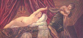 Joseph und die Frau des Potiphar | Jacopo Tintoretto | oil painting