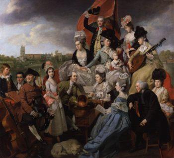 The Sharp Family   Johann Zoffany   oil painting