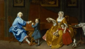 The Shudi Family Group | Marcus Tuscher | oil painting