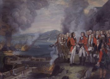 The Siege of Gibraltar 1782 | George Carter | oil painting