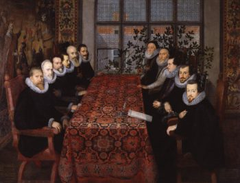 The Somerset House Conference 1604 | Unknown Artist | oil painting