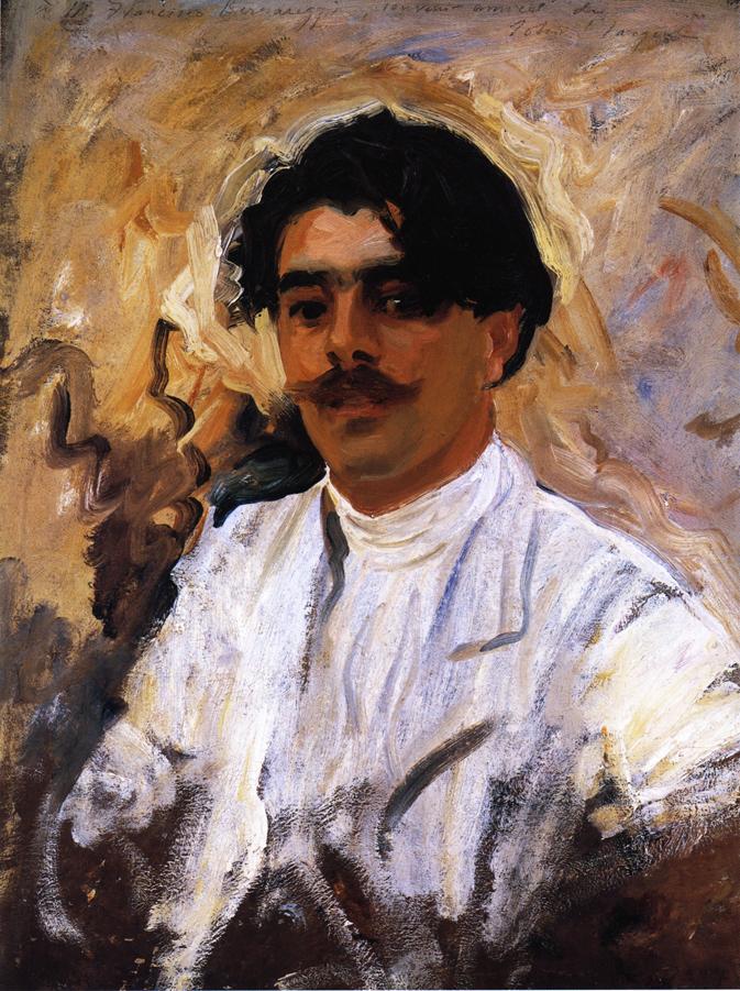 Francisco Bernareggi | John Singer Sargent | oil painting