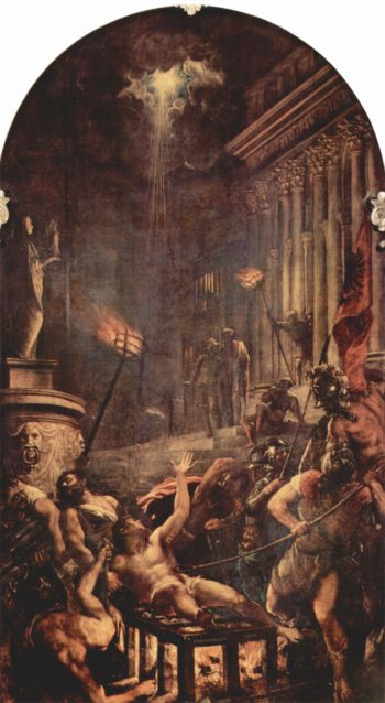 Martyrium des Hl. Laurenzius | Tizian | oil painting