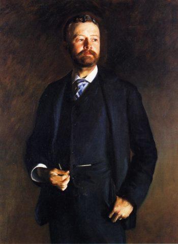 Henry Cabot Lodge   John Singer Sargent   oil painting