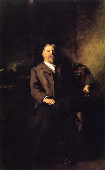 Henry Lee Higginson | John Singer Sargent | oil painting