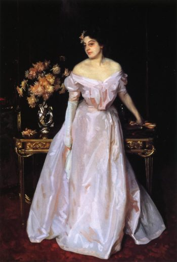 Hylda Daughter of Asher and Mrs Wertheimer | John Singer Sargent | oil painting