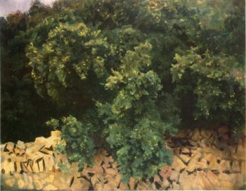 Ilex Wood Majorca | John Singer Sargent | oil painting