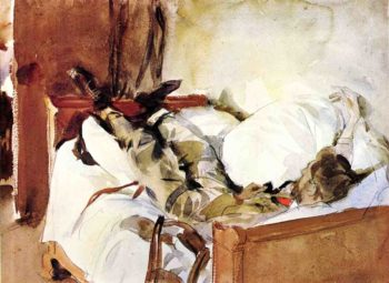 In Switzerland | John Singer Sargent | oil painting