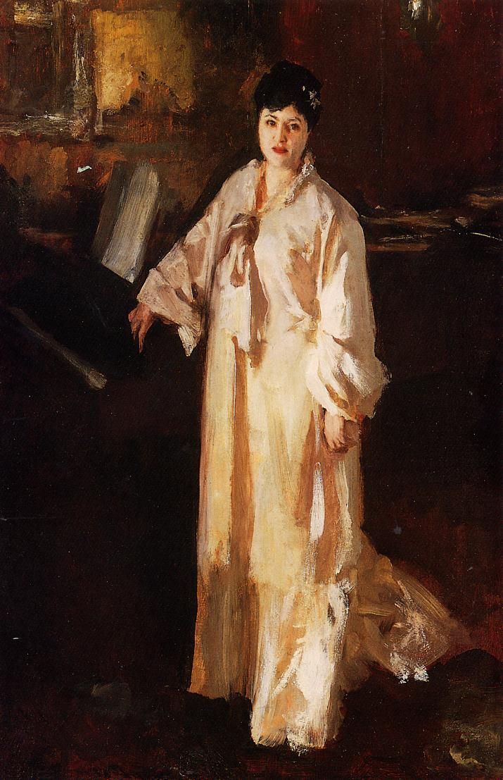 Judith Gautier   John Singer Sargent   oil painting