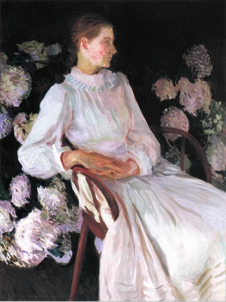 Katherine Chase Pratt | John Singer Sargent | oil painting