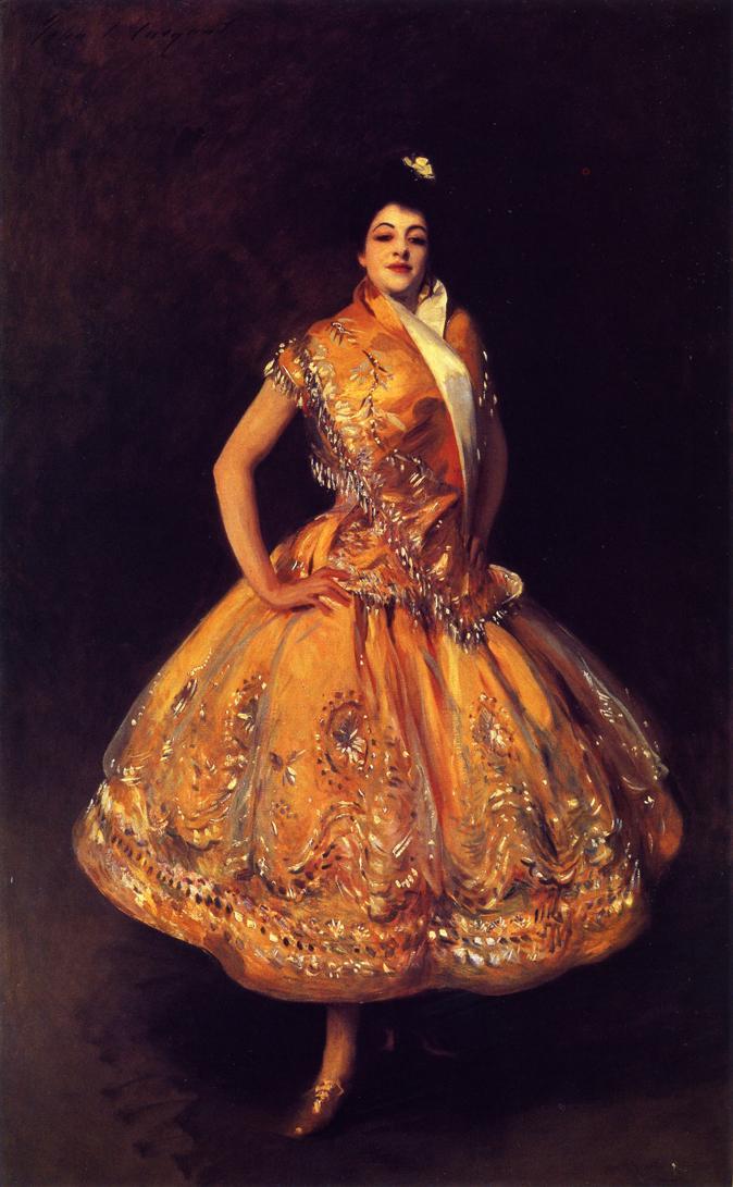 La Carmencita | John Singer Sargent | oil painting