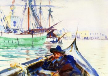 The Giudecca | John Singer Sargent | oil painting
