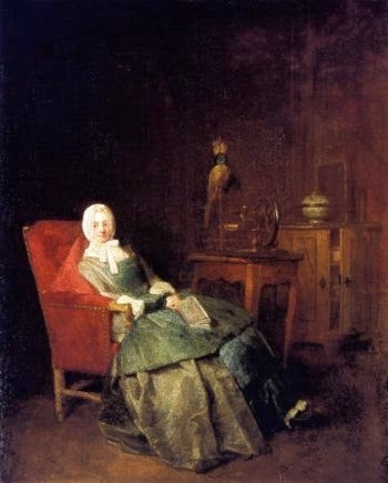 Domestic Pleasures | Jean Baptiste Simeon Chardin | oil painting