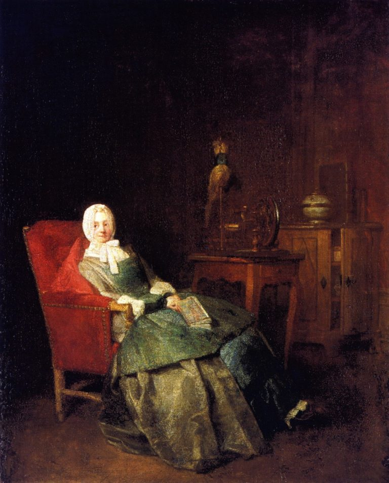 Domestic Pleasures | Jean Baptiste Simeon Chardin | oil painting