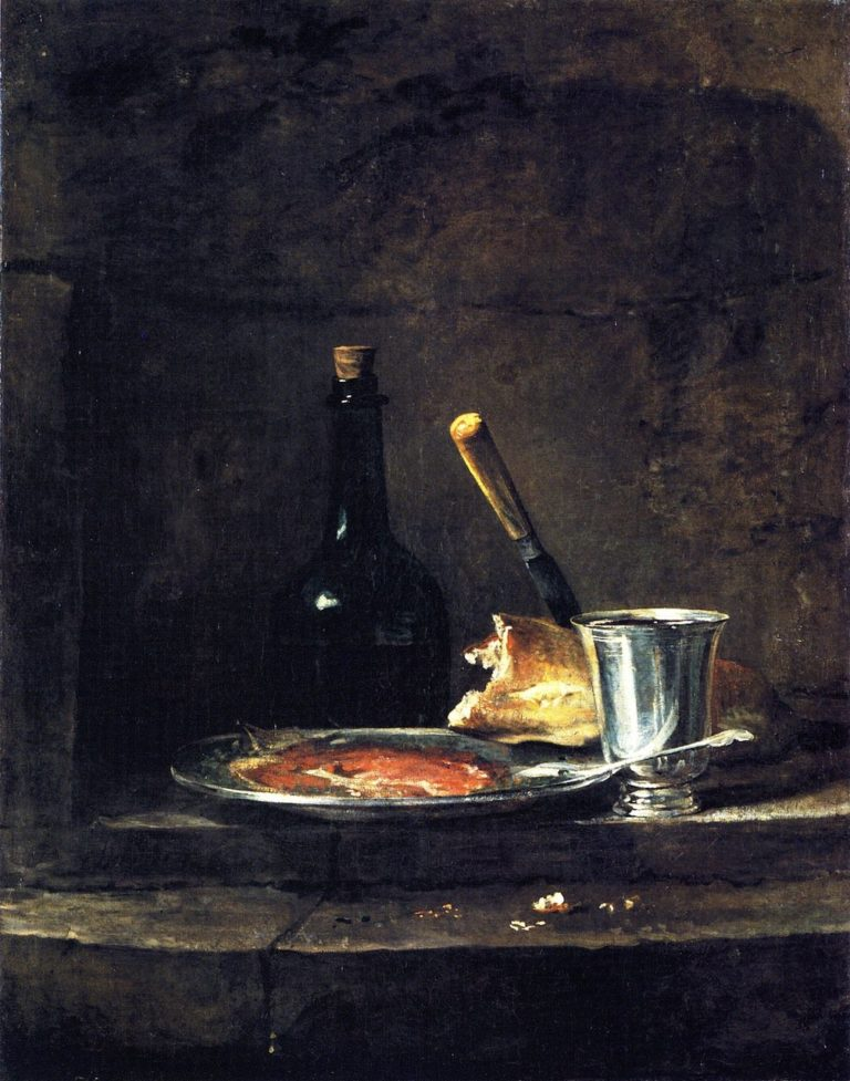 Preparations for Lunch | Jean Baptiste Simeon Chardin | oil painting