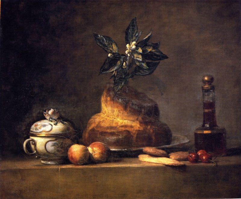 The Brioche   Jean Baptiste Simeon Chardin   oil painting