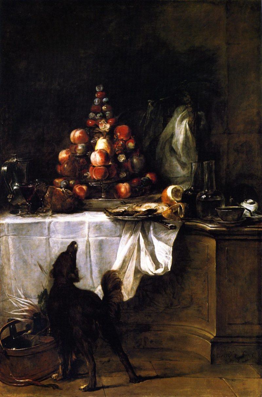 The Buffet | Jean Baptiste Simeon Chardin | oil painting