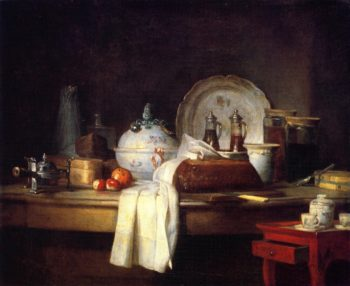 The Butlers Table | Jean Baptiste Simeon Chardin | oil painting