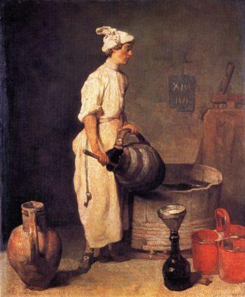 The Cellar Boy | Jean Baptiste Simeon Chardin | oil painting