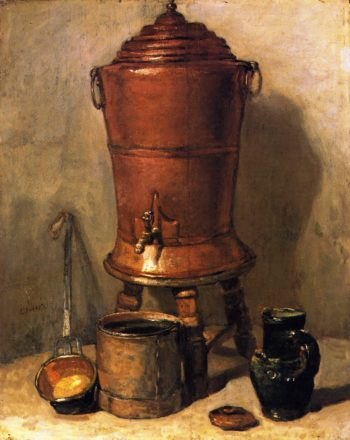 The Copper Cistern | Jean Baptiste Simeon Chardin | oil painting