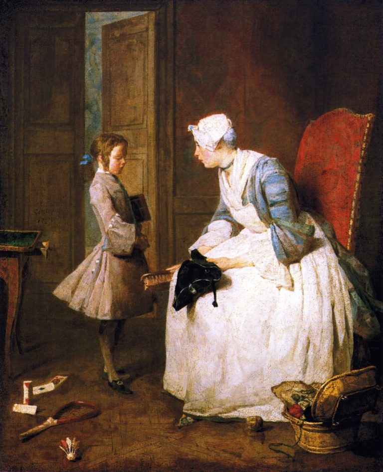 The Governess | Jean Baptiste Simeon Chardin | oil painting