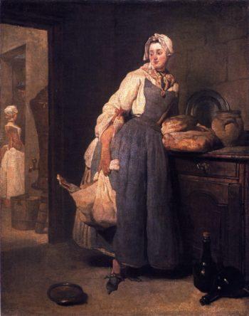 The Return from Market | Jean Baptiste Simeon Chardin | oil painting
