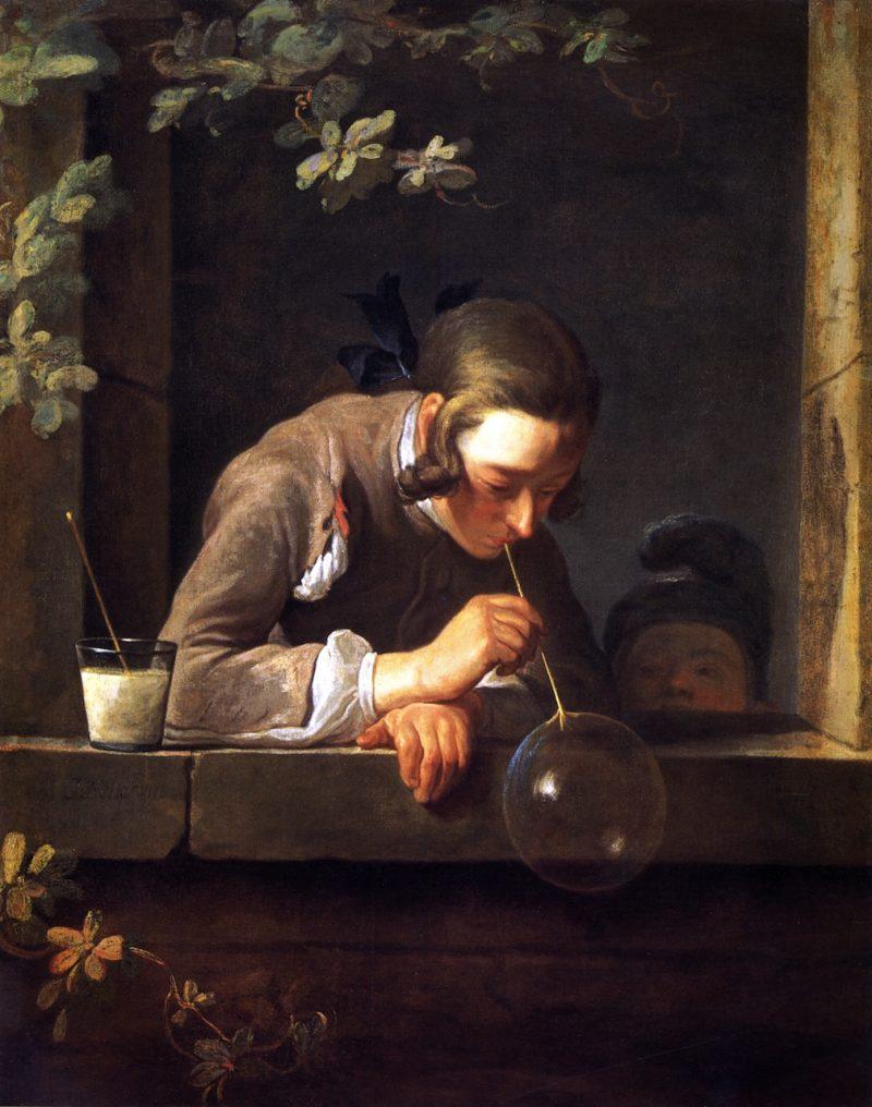 Soap Bubbles | Jean Baptiste Simeon Chardin | oil painting
