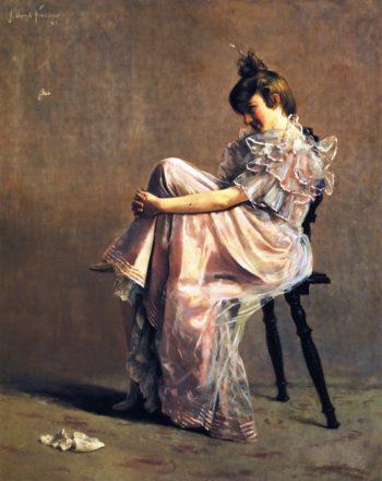 Coquette   John Bond Francisco   oil painting