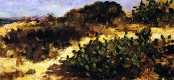 Dunes and Cacti   John Bond Francisco   oil painting