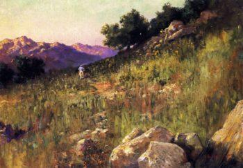 Landscape   John Bond Francisco   oil painting