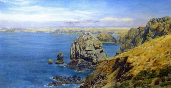 Mounts Bay | John Edward Brett | oil painting