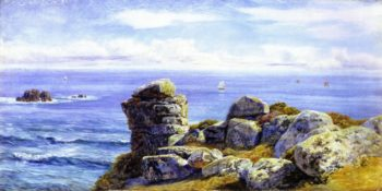 Porth Gwarra | John Edward Brett | oil painting