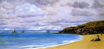 St Ives | John Edward Brett | oil painting