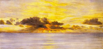 Sunset | John Edward Brett | oil painting
