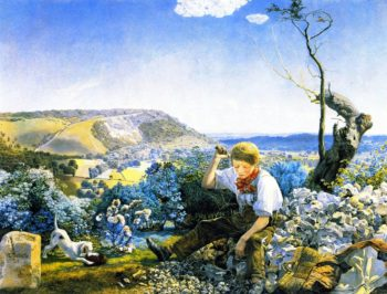 The Stonebreaker | John Edward Brett | oil painting