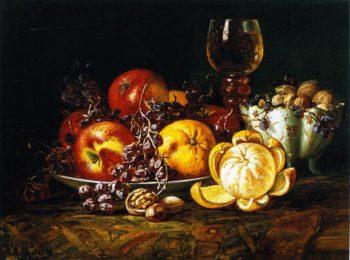 Dessert | August Laux | oil painting