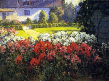 Joyous Garden | Benjamin Chambers Brown | oil painting