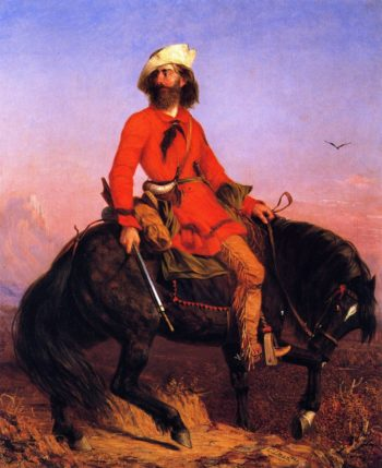 The Rocky Mountain Man | Charles Deas | oil painting
