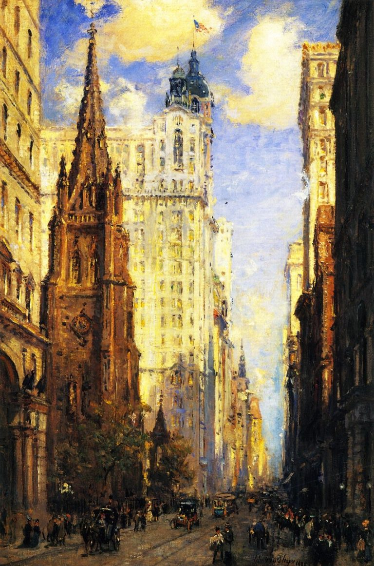 Broadway | Colin Campbell Cooper | oil painting
