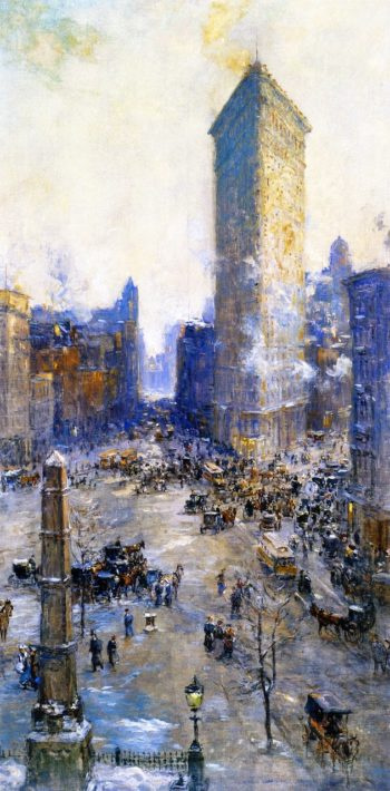 Flatiron Building | Colin Campbell Cooper | oil painting