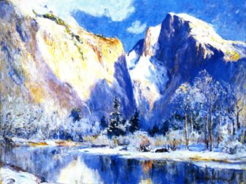 Half Dome Yosemite | Colin Campbell Cooper | oil painting