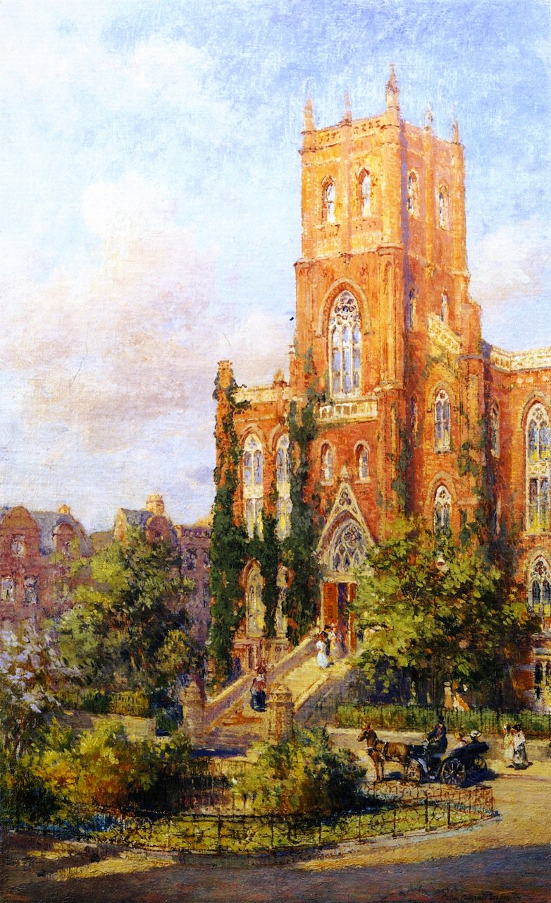 Hunter College | Colin Campbell Cooper | oil painting