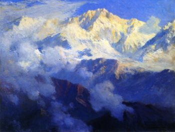Kanchenjunga The Himalayas | Colin Campbell Cooper | oil painting