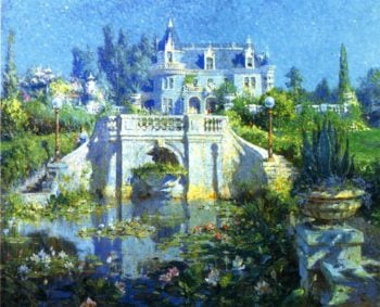 Kimberly Crest | Colin Campbell Cooper | oil painting