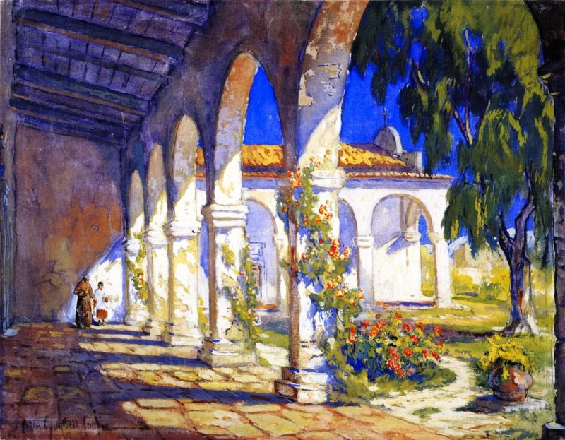 Mission San Juan Capistrano | Colin Campbell Cooper | oil painting