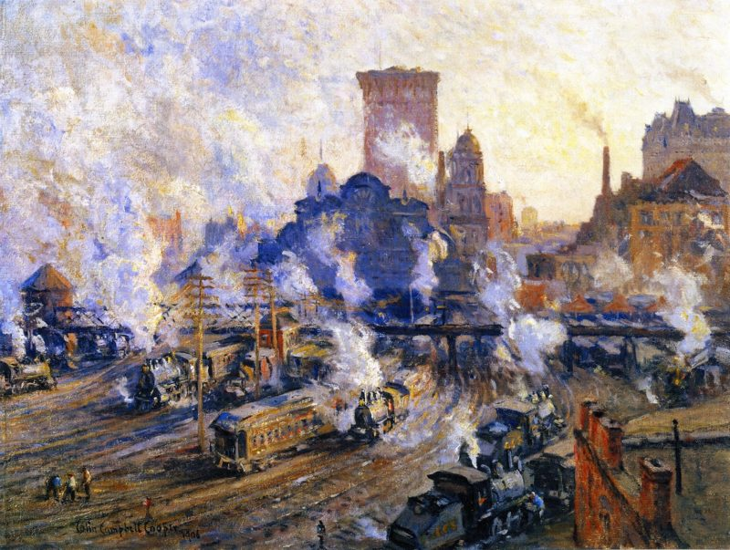 Old Grand Central Station | Colin Campbell Cooper | oil painting