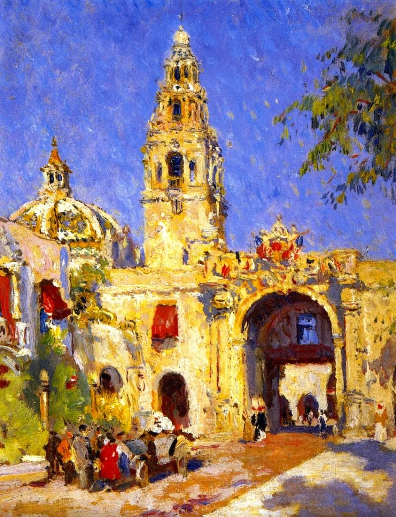 Panama California Exposition San Diego 1916 | Colin Campbell Cooper | oil painting