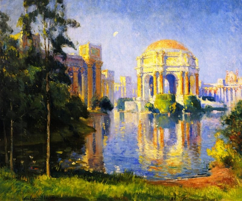Panama California Exposition | Colin Campbell Cooper | oil painting