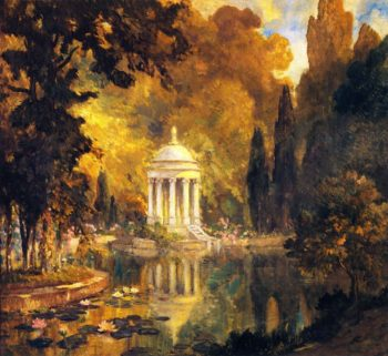 The Pool Princes Park Arajnuez | Colin Campbell Cooper | oil painting
