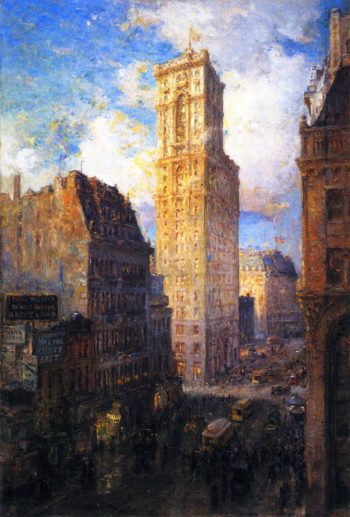 The Rialto | Colin Campbell Cooper | oil painting